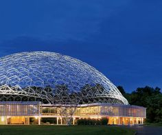 geodes dome, asm intern, office buildings, dimit architect