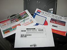 Print coupons on the back of the Money Mailer ads and other scratch paper that comes in the mail!