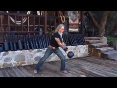 Kettlebells are one of the favored pieces of gear that I use regularly. If I had to pick just one thing to use in addition to bodyweight moves it would be a kettlebell.    In this video I am doing an Endurance playout. Going from one movement to the next with shortest rest needed before doing the next move.     You will notice that there are double ...