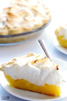 Lemon Meringue Pie   gimmesomeoven.com #dessert #pie #recipe