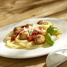 Spaghetti z soczystymi pulpecikami - Kuchnia Lidla #lidl #przepis #pulpeciki #spaghetti