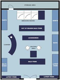 Boutique Store Layout Designs | Clothing Store Champaign, IL