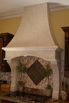 Light Weight Stone Range Hoods