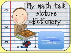MATH common core-Math Workshop  from Elementary Math Teacher on TeachersNotebook.com -  (235 pages)  -  Drawing and making connections can help your students recall and use more math vocabulary during math workshop time! Use this picture dictionary template as a station or end of unit whole group activity.