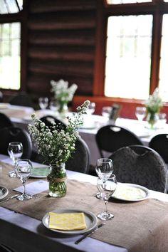 #wedding reception table decor