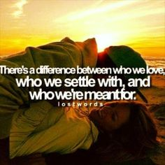 So true. But I'm glad we settled before, otherwise we wouldn't be here now.