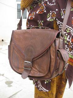 Gypsy Style Leather Camera Bag DSLR/SLR- Purse Handbag Leather Satchel Messenger Bag