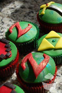 Zelda Sweet Cupcakes @Amy Chiang.CCS - https://www.facebook.com/Minicakes.ccs