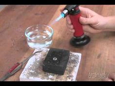 Art Jewelry - Fusing Metal With a Torch (without solder)