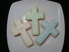 1st communion cookies