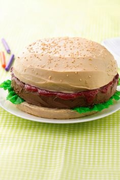 Super fun cake for summer birthdays!