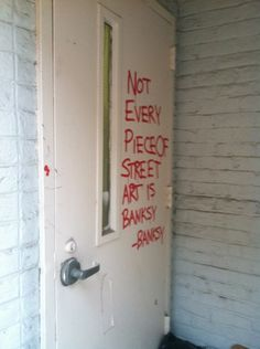 Banksy not Banksy
