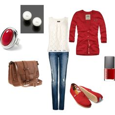 Pop of Red!