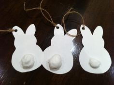 Bunny Easter Tags