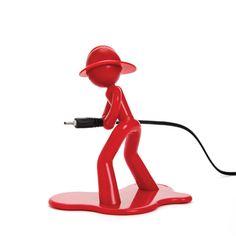 """Charging Charlie"" - cable holder by Peleg Design"