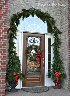 beautiful christmas wreaths for front door | ... and now it's your chance to share your beautiful creations with us