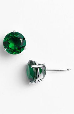 Nordstrom Round 6ct Cubic Zirconia Earrings available at #Nordstrom