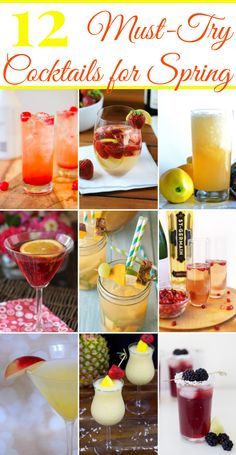 12 Must-Try Cocktails for Spring