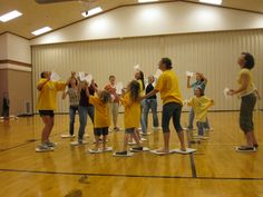 group Family activities - I could use these ideas for church youth activities