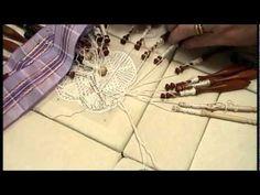 Nancy Today: Bobbin lace work Tombolo