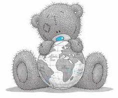 ... friends, teddi bear, globes, teddy bears, tatti bear, world traveler, blue nose, tatter teddi, tatti teddi
