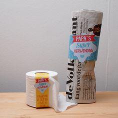 Twee voorbeelden uit het 'Papa's-Super-Verwendag'-pakket. Je kan deze en 11 andere labels gratis downloaden voor vaderdag. | © Papiergoed