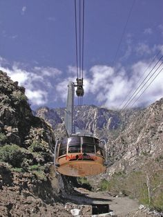 Palm Springs Aerial Tram,  Photo Credit: Palm Springs Desert Resort Communities Convention and Visitors Authority