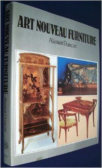 Art Nouveau Furniture by Alastair Duncan is an excellent resource for #designers whose clients desire a look from centuries past. This book delves into the nuances of Art Nouveau, such as #marquetry, carving and a breakdown of the woods and #mounts used in a wide array of tables, chests, mirrors, cabinets, chairs, and desks.