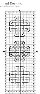 Brain Clutter: Cross stitch pattern: Borders and things #2