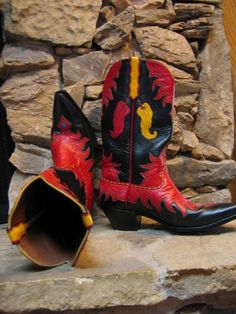 custom made chili boots, super fun!