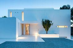 minimal house in Ibiza