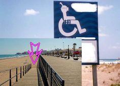 playas accesibles o el timo de la estampita