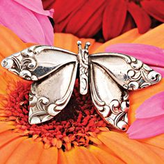 butterfly ring...made from spoon handles!  I want one!