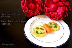 Squash & Carrot Butterfly by @lbird226  #veggieworld