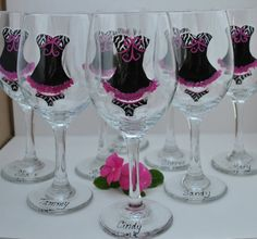 Bachelorette Glasses Bachelorette Party
