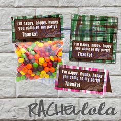 INSTANT DOWNLOAD Duck Dynasty favor bag/ goodie bag by Rachellola, $5.00