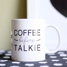 The morning agenda, summed up in three words. #etsy #etsyfinds