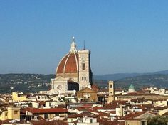 the roofs of Florence