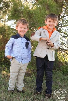 Kids Holiday Clothes - Style Tips featuring Minnetonka Moccasin - Melly Sews