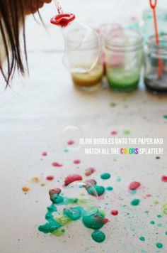 9 Ideas for fun with bubbles this summer | BabyCenter Blog