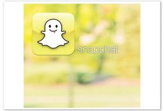 Snapchat-- Snapchat leads to the obvious: Talk again about sexting. Talk. Talk. Talk. via Ooph