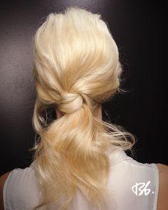 Fall/Winter Fashion Week. Hair by Bb. Stylist Oliver de Almeida Wahead #fashionweek #fashion #hair #bumbleandbumble #style