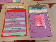 Flipbook for parents: back to school/curriculum night
