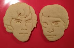 """""""Sherlock and Watson Portrait Cookie Cutters. $11.00, via Etsy.  This is what happens when a fandom waits... and waits!! Is it wrong that I want these?"""" - If wanting these is wrong, I don't want to be right."""