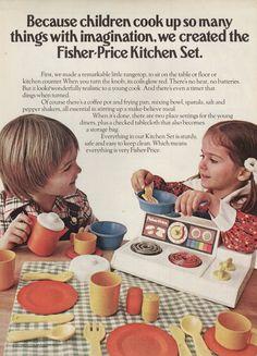 kitchen #fisher_price #vintage