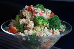 Recipe: Quinoa Salad With Creamy Balsamic Dressing