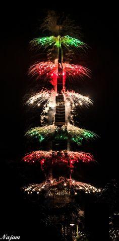 New Year at Burj Khalifa, Dubai