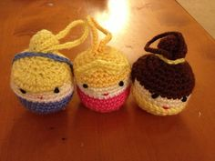 Crochet Pattern  Amigurumi Disney Princess  by justgoshopping, $3.00