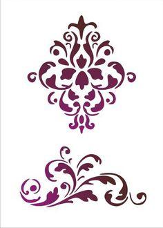Šablone. Razgovarajte s LiveInternet - ruske USLUGA online dnevnike caballo, arabescosriscosimagen, decoupag, artprint, matric, ceramica, acstencilfabricpattern, motif, flourish