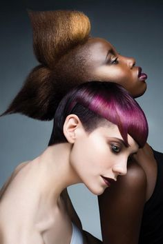 Creases & Shadows by Angus Mitchell #hair #beauty #pro #hairdressing --See the whole collection & more #hairstyling images on www.salonmagazine.ca